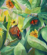 """Metamorphosis"", a pastel painting by Amy Glover Martin"